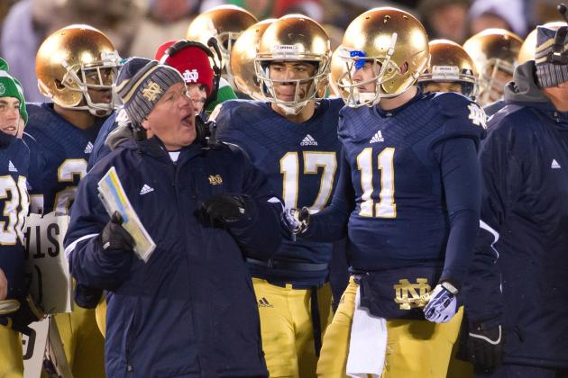 Notre Dame No. 2 in Ranking of Football Riches, IU Tops Purdue