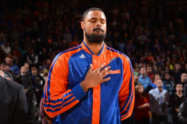 What Could New York Knicks Get in Potential Tyson Chandler Trade?