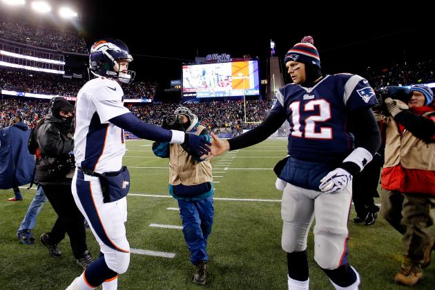 AFC Championship Game 2014: Positional Breakdown for Patriots vs. Broncos