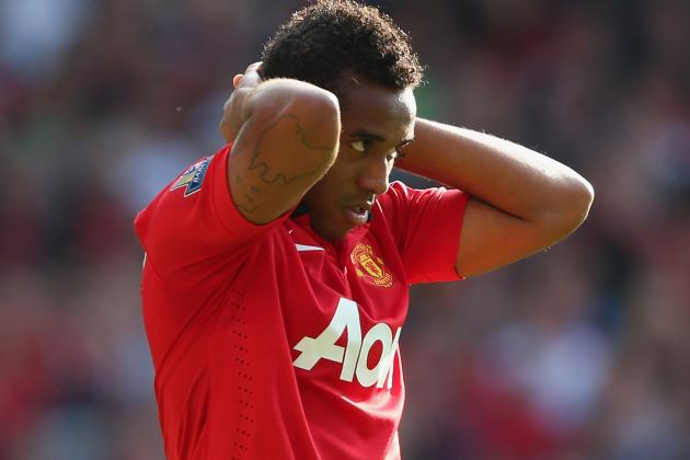 Anderson Has Failed to Fulfil His Potential at Manchester United