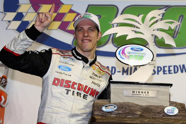 Brad Keselowski Didn't Miss Offseason Spoltight After Disappointing 2013 Season