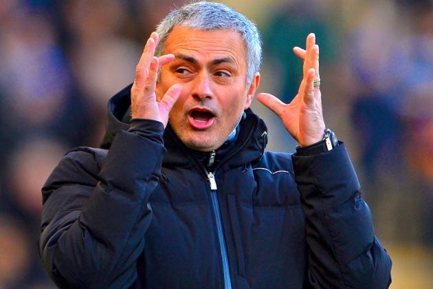 Jose Mourinho Says He Will Stay at Chelsea Until He Is Sacked