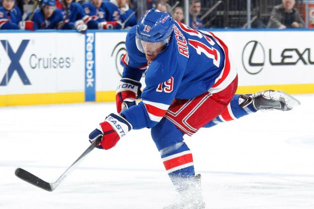 Brad Richards Regaining Broadway Groove After Disappointing Season