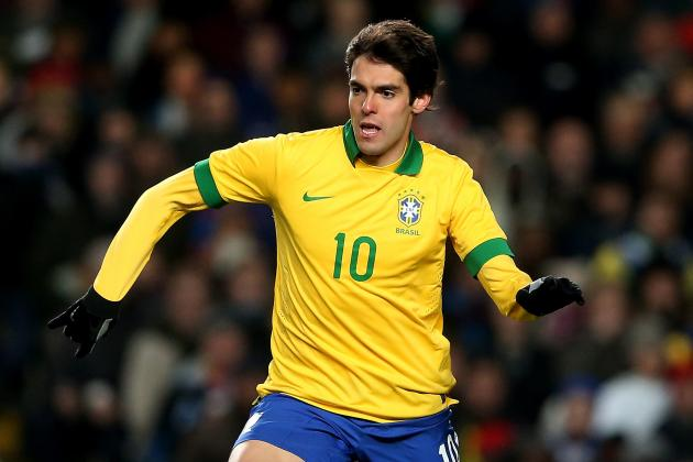 Milan's Resurgent Kaka Can Be Brazil's Trump Card at 2014 World Cup