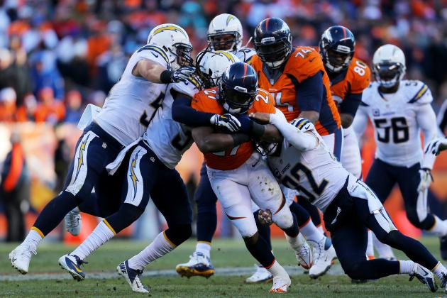 5 Takeaways from Knowshon Moreno's Clutch AFC Divisional Round Performance