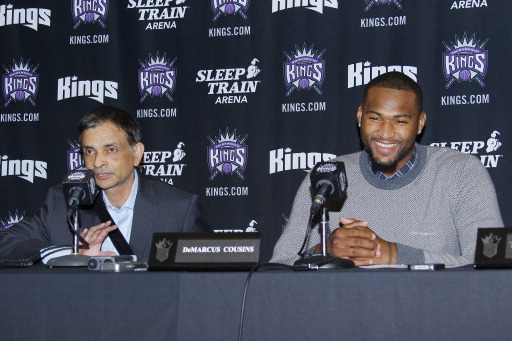 DeMarcus Cousins and Kings Owner Vivek Ranadive Ask India for All-Star Votes