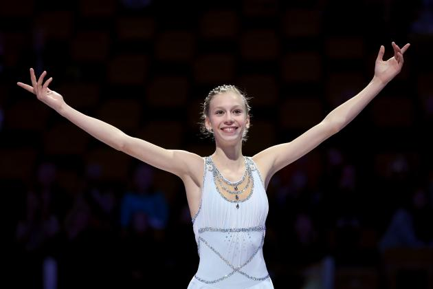 Newcomer Polina Edmunds the Present and Future of US Olympic Figure Skating