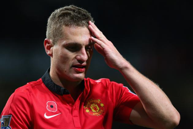 Manchester United Transfer News: Galatasaray End Nemanja Vidic Pursuit