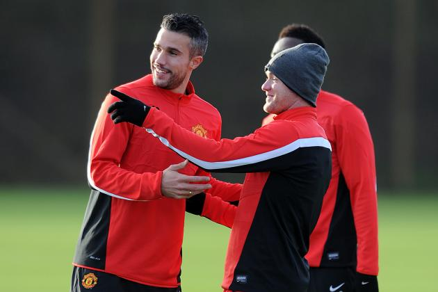 How David Moyes Should Set Man Utd Up When Robin Van Persie Returns