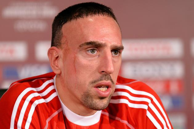 Ballon D'Or: Franck Ribery Sad to Miss out on FIFA Award to Cristiano Ronaldo