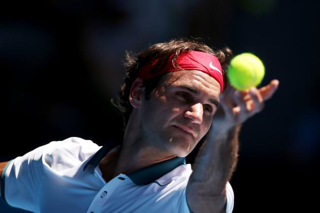 Roger Federer's Keys to Victory vs. Blaz Kavcic at 2014 Australian Open
