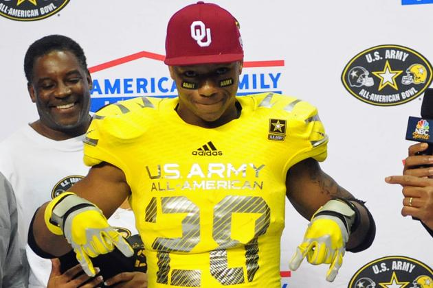 Oklahoma Football: Odds 5-Star RB Joe Mixon Starts His Freshman Season