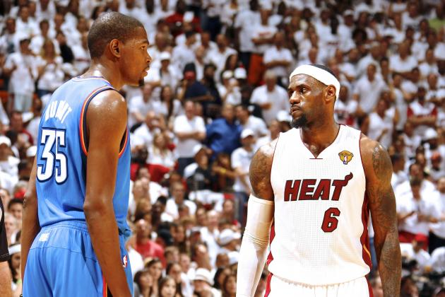 LeBron James: 'I Do Get Jealous' About How Much Kevin Durant Shoots