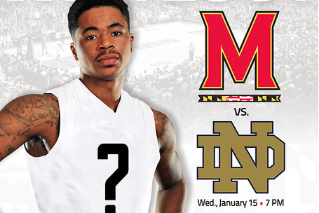 Maryland to Unveil New Basketball Uniforms Wednesday vs. Notre Dame