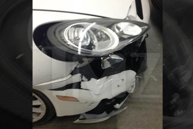 Pics of Tito Ortiz's Crashed Porsche Surface Following DUI Arrest