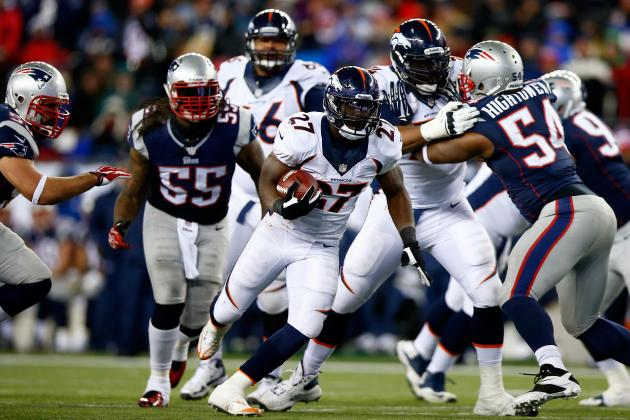 Patriots vs. Broncos: Knowshon Moreno Gives Denver the Edge in AFC Championship