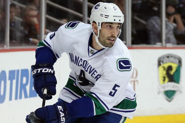 Canucks 'Big Shot' Jason Garrison to Play New Role