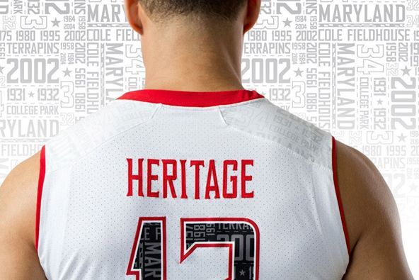Terps Release New 'Heritage' Uniforms for White-out Game