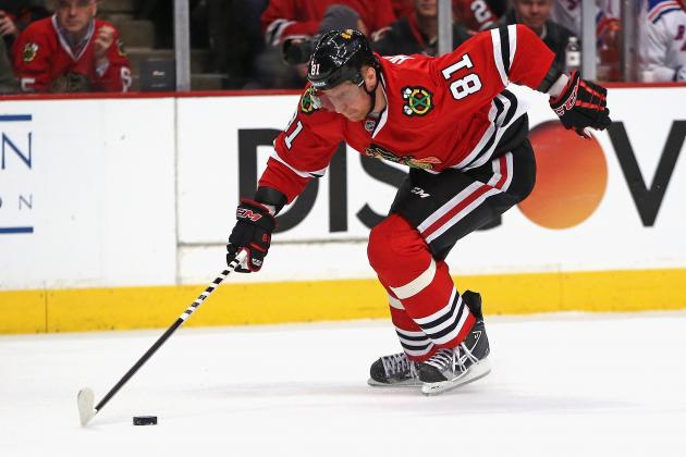 Should the Chicago Blackhawks Be Concerned About Marian Hossa Slowing Down?