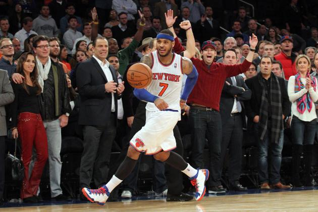 Is Carmelo Anthony's Passing the Key to New York Knicks' Sustained Success?