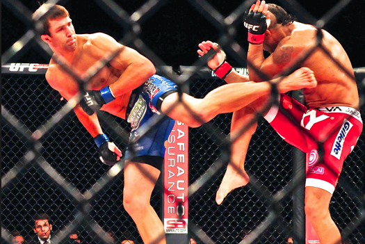 UFC Fight Night 35: Luke Rockhold Still Distancing Himself from Vitor Belfort KO