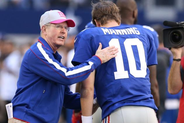 Coughlin Says Ben McAdoo Will Bring Change, 'Light a Fire' in Giants Offense