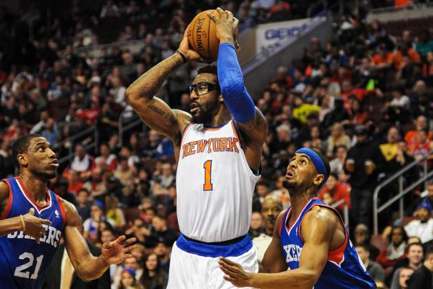 Amar'e Stoudemire Has Pinpoint Aim If He Meant to Hit Fan's Drink with Pass