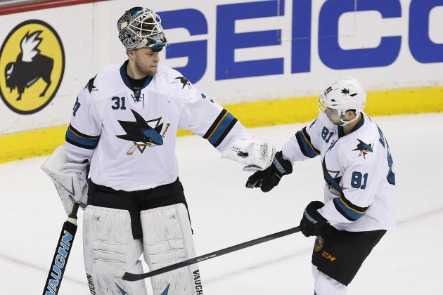 Niemi Continues Sharks' Dominance of Capitals