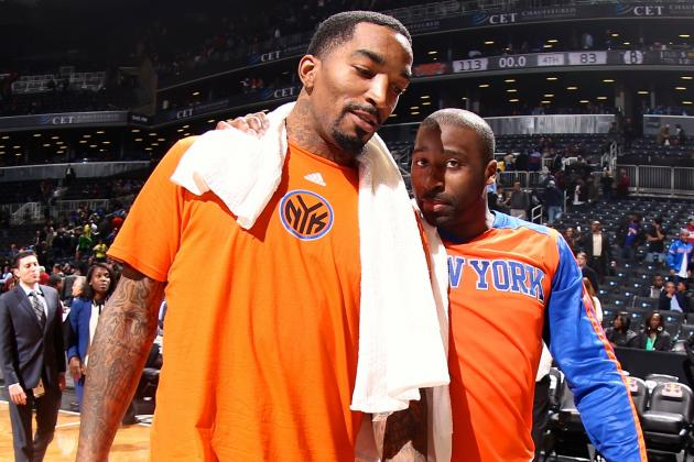 J.R. Smith Mysteriously Benched by NY Knicks Once Again