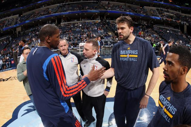 Marc Gasol's Return Makes Kevin Durant's Challenge Even More Daunting