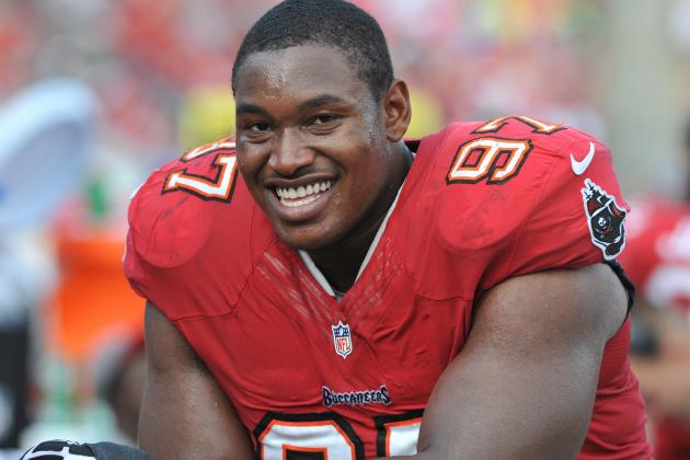 Report: Bucs DT Spence Arrested on Marijuana Charge