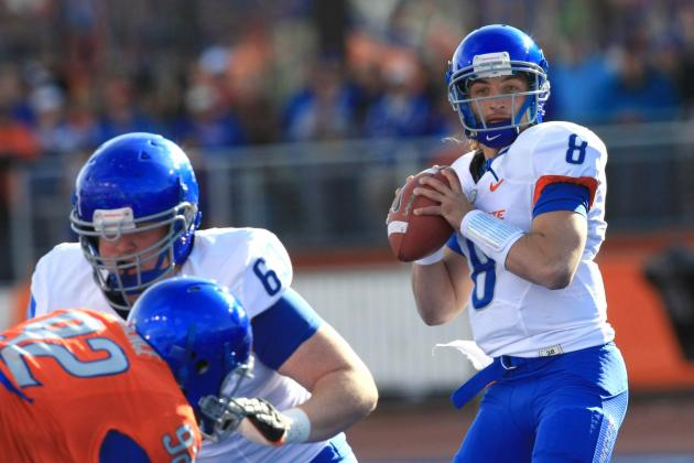 QB Nick Patti Set to Transfer from Boise State Broncos