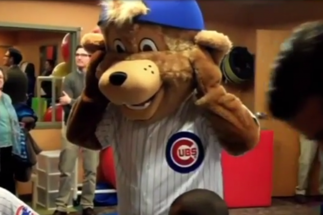 Comcast SportsNet Accidentally Airs NSFW Image of Cubs Mascot
