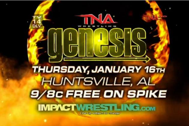 TNA Impact Wrestling: Genesis Preview, Rumors, News and More for January 16