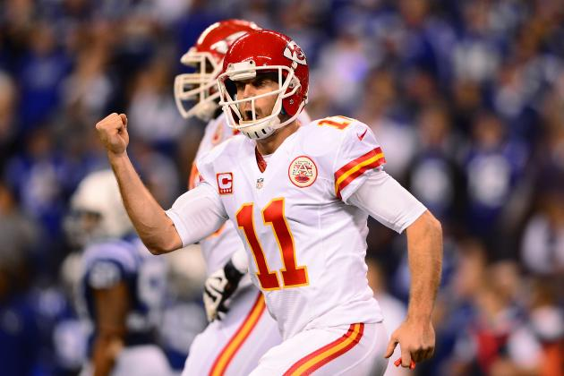 Chiefs' Best Play at Quarterback? Extend Alex Smith's Contract
