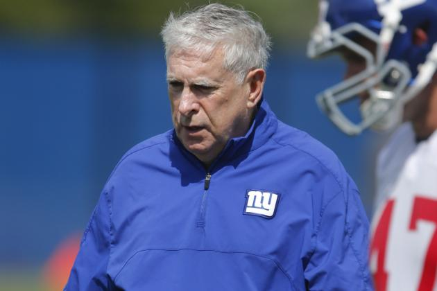 Giants Make Changes on Offensive Staff