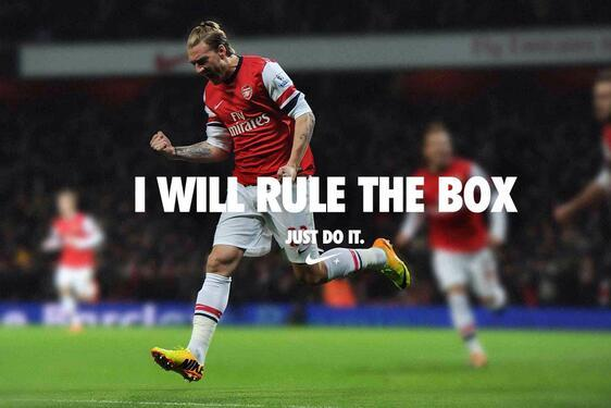 Nicklas Bendtner Tweets 'I Will Rule the Box', Twitter Responds Accordingly