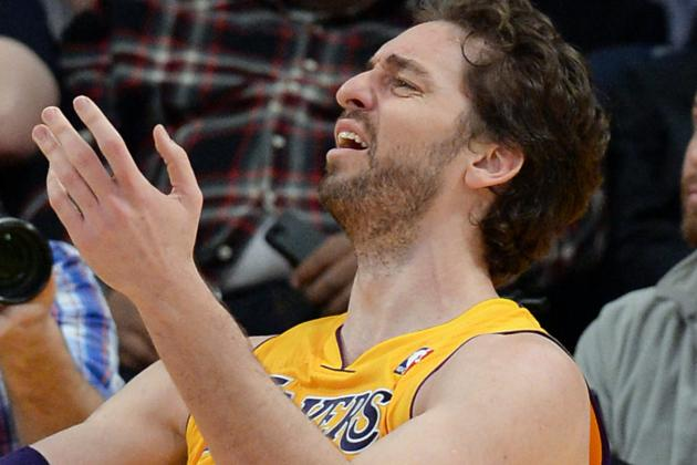 Lakers Rumors: LA Must Focus Efforts on Getting Long-Term Value for Pau Gasol