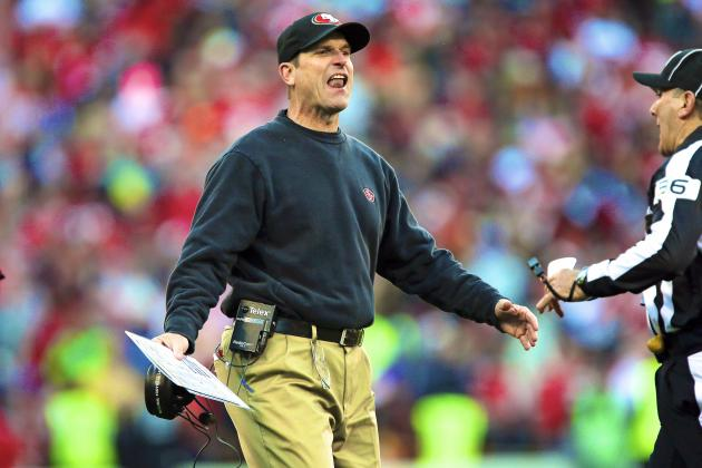 Jim Harbaugh's Wife Sarah Isn't Fond of the $8 Walmart Khakis Her Hubby Wears