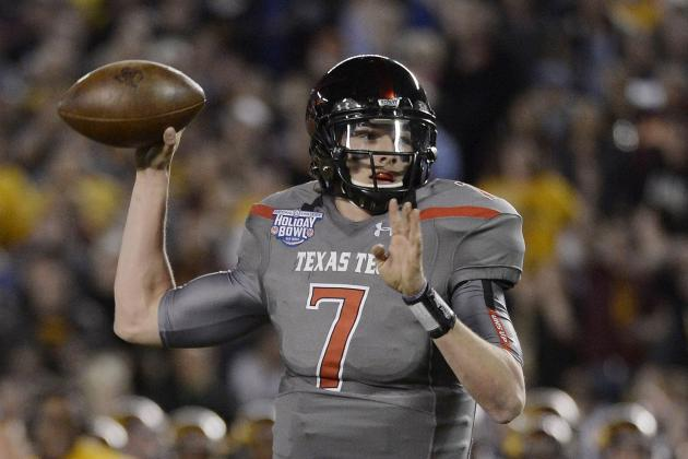 Texas Tech Football: QB Michael Brewer's Transfer Means It's Davis Webb's Time