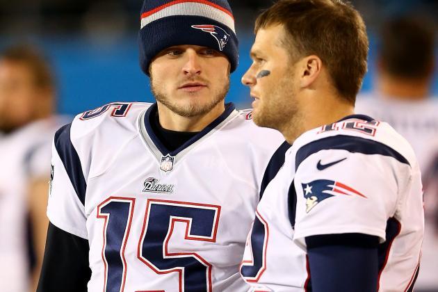 Ryan Mallett Plays Tom Brady and Peyton Manning During Wednesday's Practice