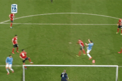 GIFs: Negredo, Dzeko, Aguero Power Manchester City in 5-0 Romp over Blackburn