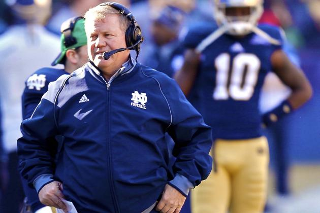 Notre Dame Football: What to Expect from Brian Kelly Taking over Play-Calling