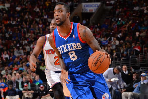 Tony Wroten Drives for Furious Dunk on Michael Kidd-Gilchrist