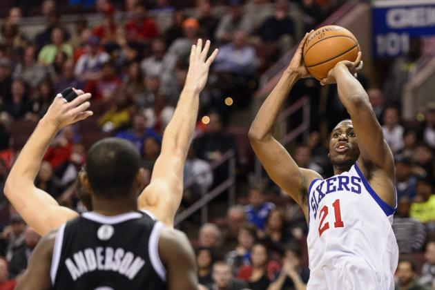 Thaddeus Young Makes Game-Winning 3-Pointer Against Charlotte Bobcats