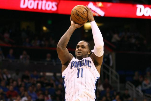 Glen Davis, of All People, Makes 3-Pointer to Send Bulls-Magic into Triple OT