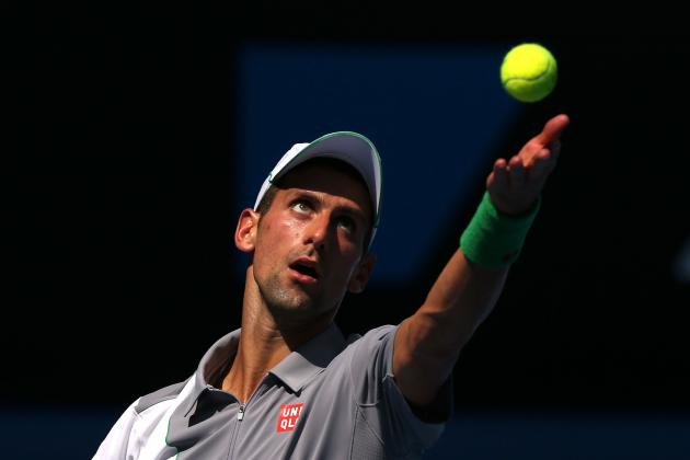 Previewing Novak Djokovic's Likely Route to Semifinals at Australian Open
