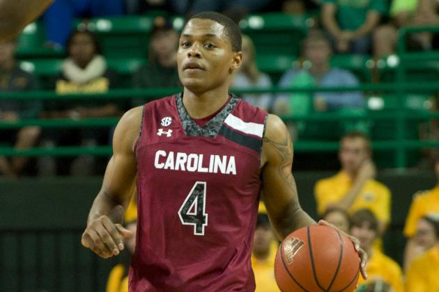 South Carolina Falls at Texas A&M, 75-67; Ty Johnson Breaks Ankle