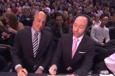 Dave Pasch Loses Coin Flip with Jon Barry, Must Interview Gregg Popovich