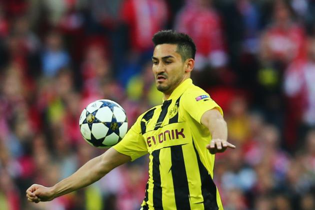 Manchester United Transfer News: Ilkay Gundogan Open to Borussia Dortmund Exit